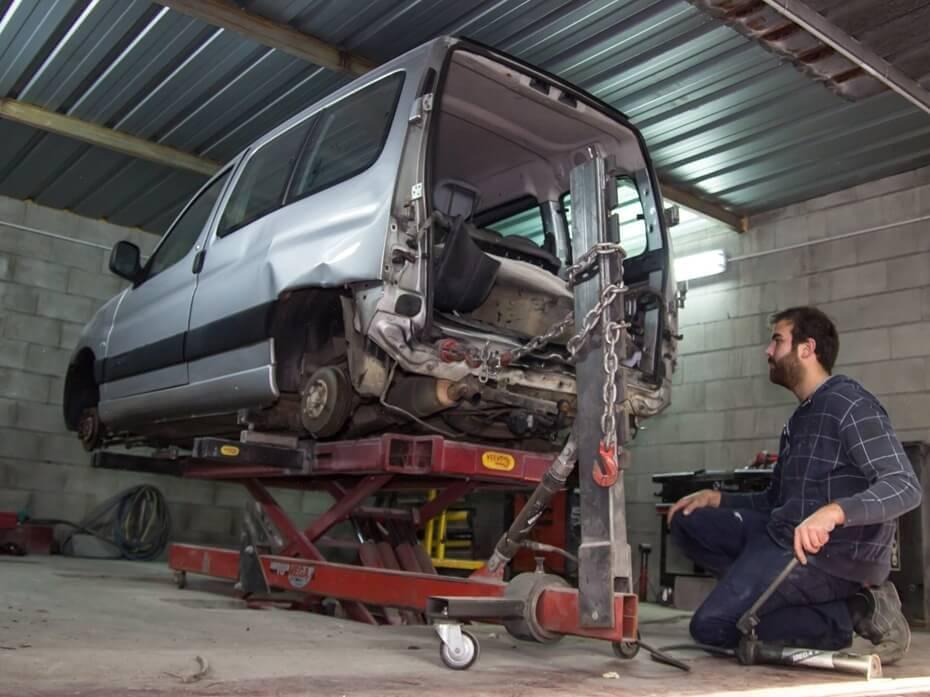Maquinaria taller especializada