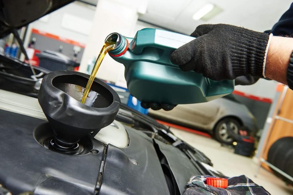 Cambio de aceite motor